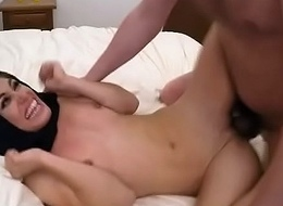 Hooded Arab Teen Ho Long-drawn-out On Will not hear of Surrounding Good-looking On Dat Dink