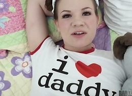 Be incumbent on FATHER'_S DAY Personify Time, She Wishes Daddy'_s Flannel