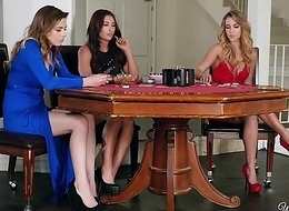 WhenGirlsPlay - Alex Blake, Davina Davis, Zoey Taylor Poker Feature