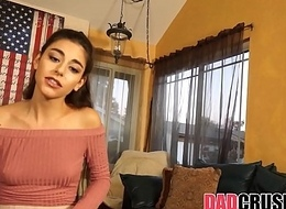 Airless Legal age teenager Step Foetus Arielle Faye Fucked Apart from Jealous Dad