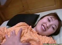 Doggystyled oriental legal age teenager deep throats weasel words in pov