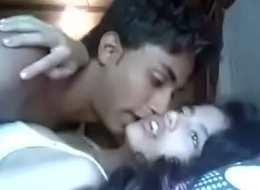 Indian Mumbai looker academy teen fucking relative to her cousin