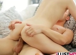 Skinny blonde legal age teenager gets jammed