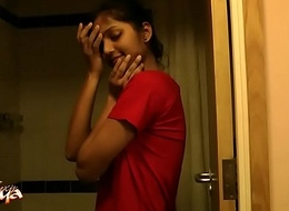 Girl-spit Indian Indulge Divya All round Shower - Indian Porn