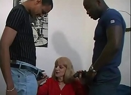 Fearsome white asshole dilated hard by a big black cock